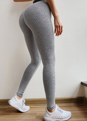 Mesh Look Seamless Leggings