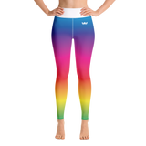Active Health Yoga Leggings Rainbow