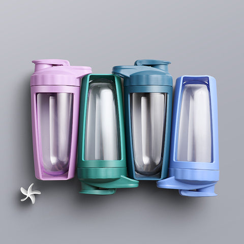 Protein Shaker Water Bottle