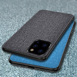 Luxury Fabric iPhone 11 Case