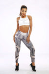 Anaconda Snake Print Leggings