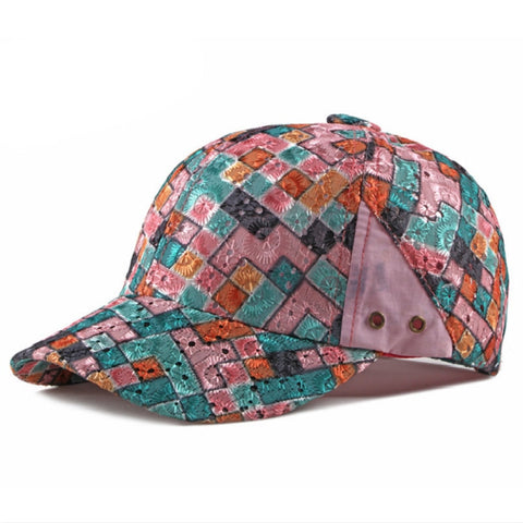 Color Checkers Hat