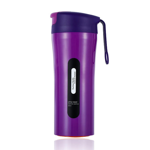 Stainless Steel Suction Water Bottle