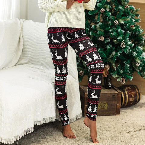 Christmas Print Season Leggings