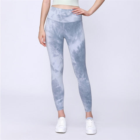 Tie Dye High Waist Leggings