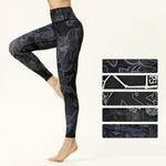 High Waist Black Performance Leggings
