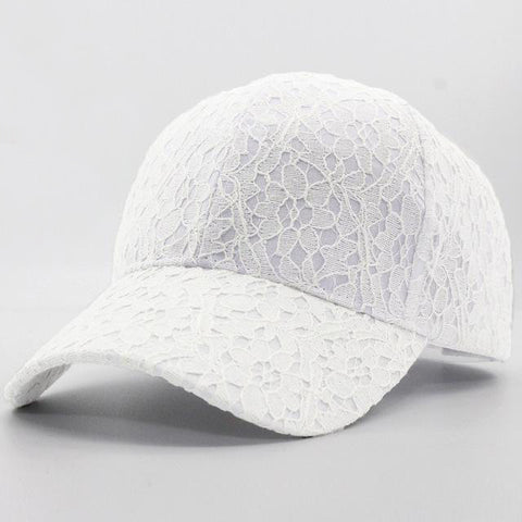 Lace Pattern Baseball Style Hat