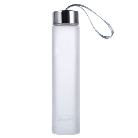 Matte Plastic Water Bottle