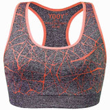 Crack Print Active Top