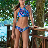 Acid Elephant Bikini Set