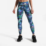 High Waist Jungle Floral Leggings