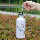 Unicorn Aluminum Water Bottle