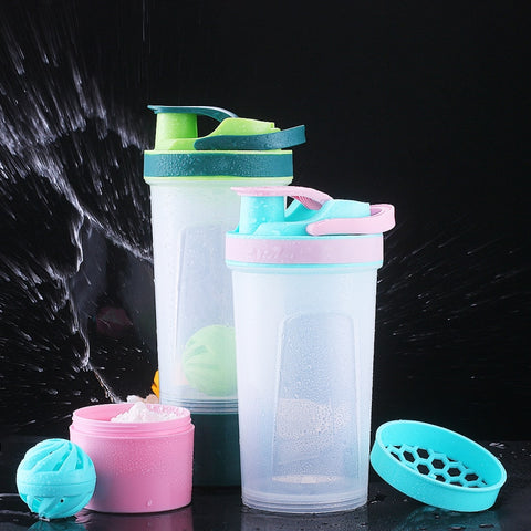 Bottom Storage Shaker Bottle