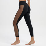 Net Stripe Push Up Leggings