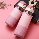 Insulation Bag Glass Water Bottle