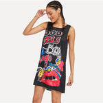 Graffiti Sporty Dress