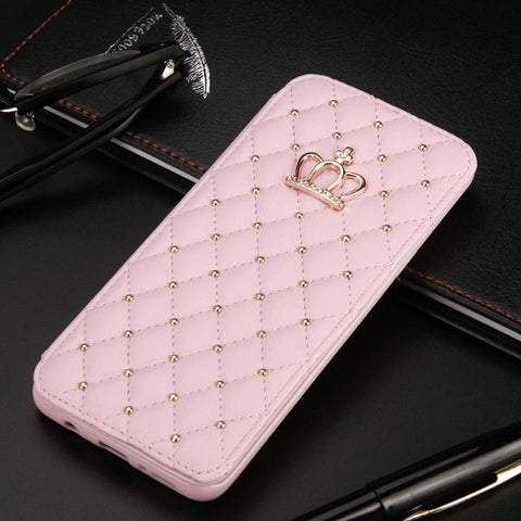 Queen Crown Phone Cover Case