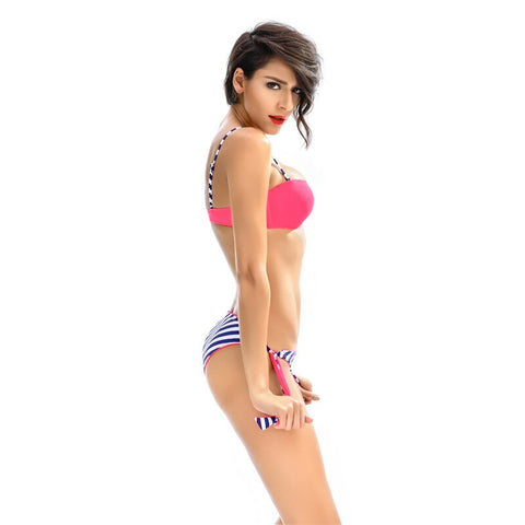 Calypso Stripes Bikini Set