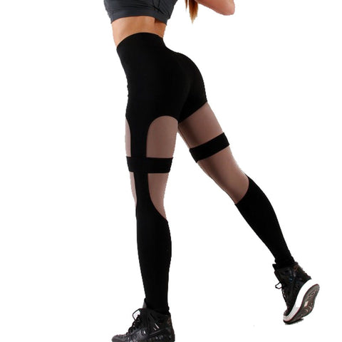 High Waist Push Up Harness Leggings