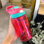 Small Straw Water Bottle