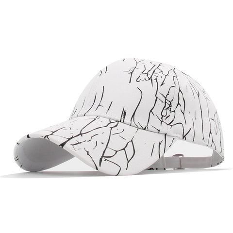 Marble Crack Baseball Hat