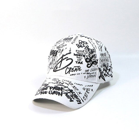 Graffiti Baseball Style Hat