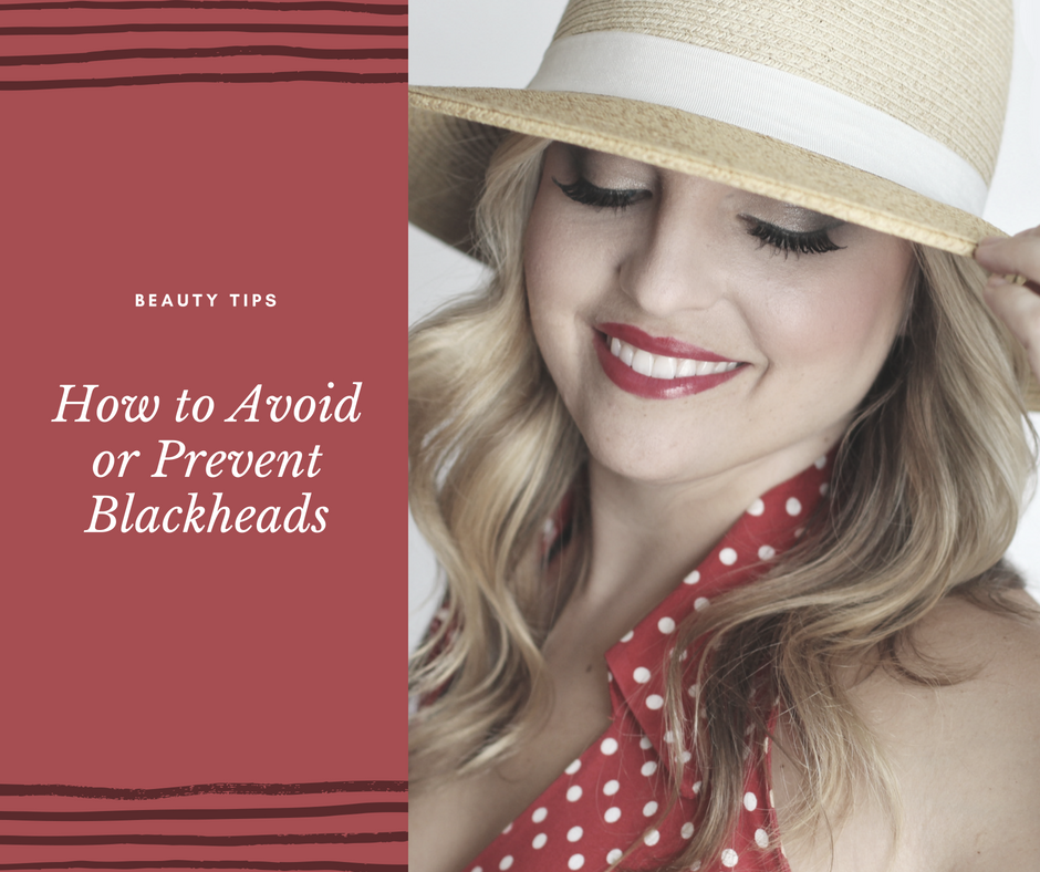 How to avoid or prevent blackheads