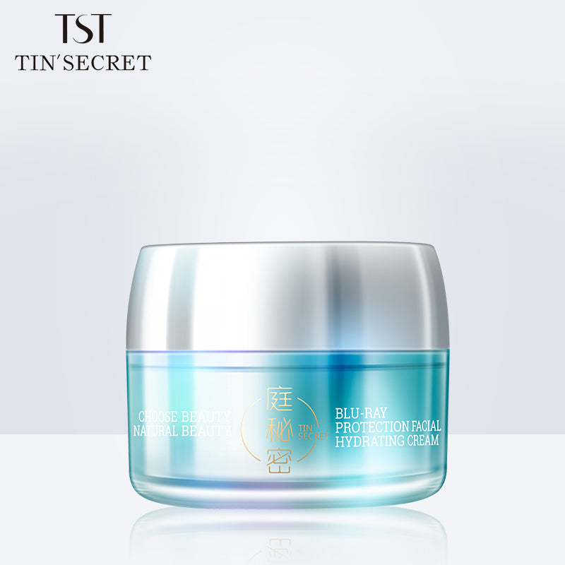 Blu-Ray Protection Facial Hydrating Cream 蓝光防护水凝霜 50g - TST skin care yeast mask 庭秘密活酵母