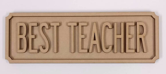 Teacher Street sign