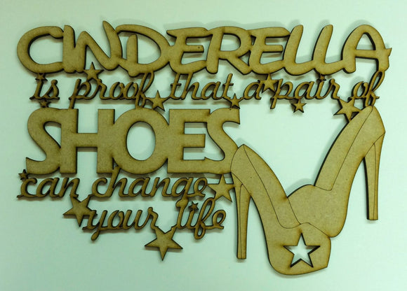 Cinderella is proof a pair of shoes can change your life