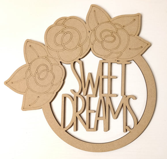 Sweet Dreams Rose Dream Catcher