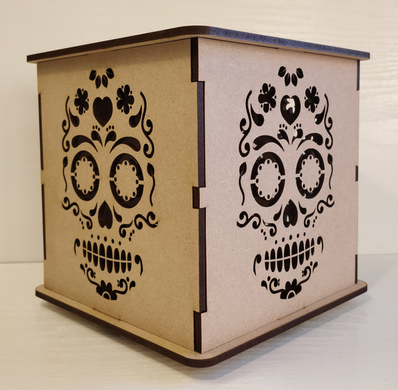 Candy Skull Light Box