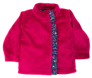 Bloom Jacket in Magenta