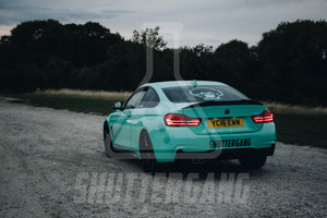 BMW F32 Carbon Fibre Ducktail spoiler