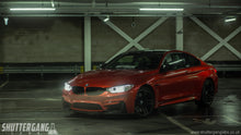 bmw m4 carbon fibre m performance splitter