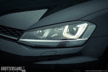 VW Golf Mk7 Carbon Fibre Headlight Eyebrow Trim