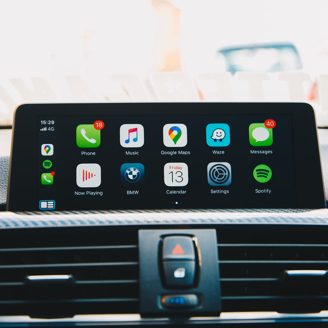 Apple CarPlay and Android Auto for IDRIVE 4.0 or newer