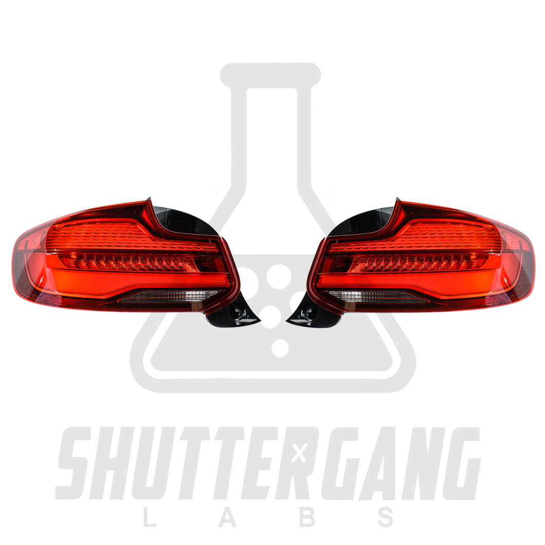 BMW F22 / F23 / F87 Genuine LCI Tail Lights + Retrofitting Kit