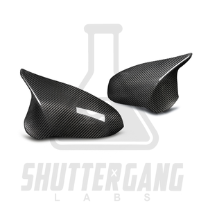 BMW M2 Competition / M3 / M4 Pure Carbon Fibre Replacement Wing Mirror Covers