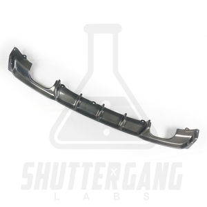 BMW F30 Carbon Fibre Diffuser (Choose your exhaust set up)