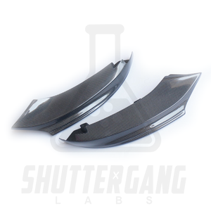 BMW F32 Carbon Fibre Splitter Side Covers