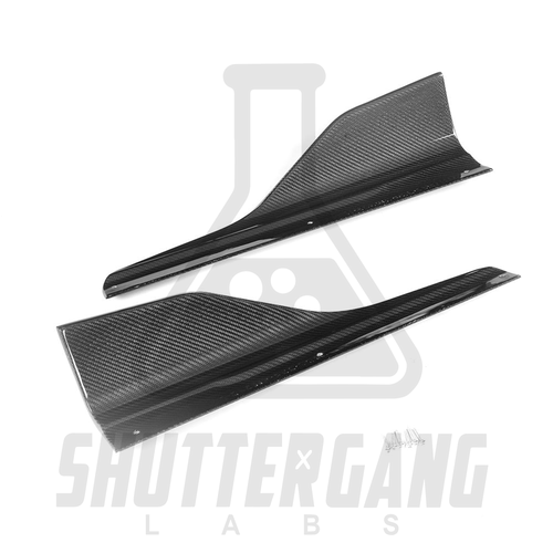BMW M2 F87 Side Skirts Winglets Splitters