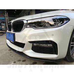 BMW G30 Carbon Fibre Bottom Mounted Splitter