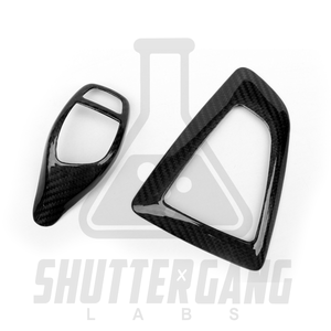 BMW F Series gear shifter cover and surround set