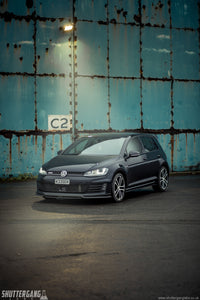 VW Golf Mk7 GTI / GTD and R / R Line Carbon Fibre Splitter
