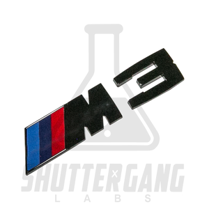 BMW M3 Gloss Black Badge