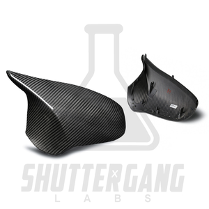 BMW M2 / M3 / M4 Pure Carbon Fibre Replacement Wing Mirror Covers