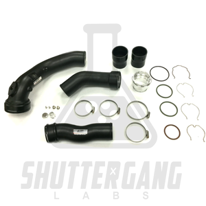 BMW N55 (X35i) Charge Pipe + Boost Pipes Pack