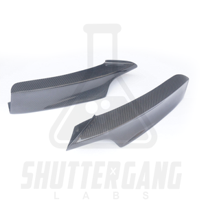 BMW F30 Carbon Fibre Splitter Side Covers