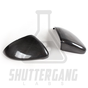VW Golf Mk7 Carbon Fibre Mirror Caps